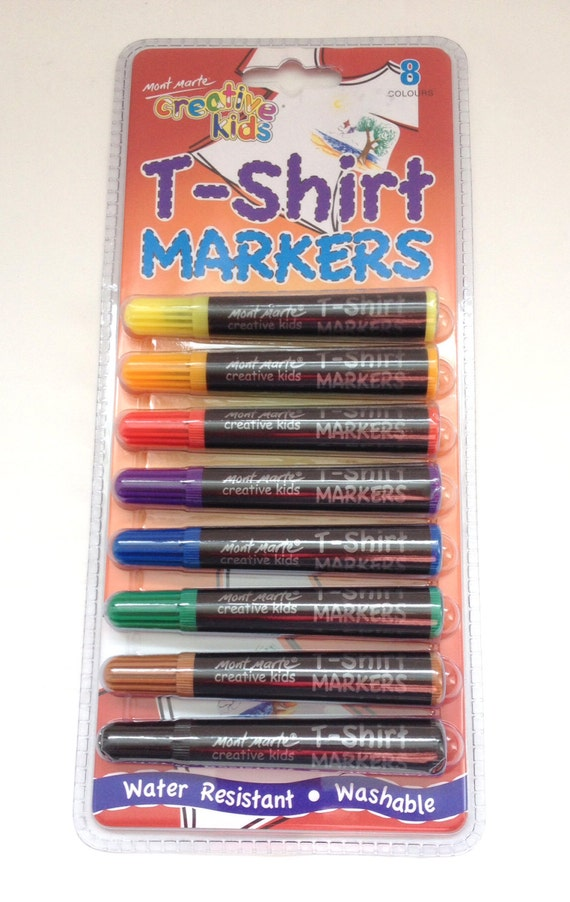 Fabric Markers T Shirt Markers 8 Colours