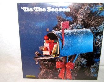 Christmas, Season Greeting, Collectible, Sealed, Xmas, Holiday, Special, Tis the Season, Dinner, Carols, Favorites, Album, Record, LP, Music