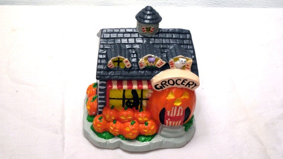 Zucca patch halloween luce trucco o ossequio house old for Zucca halloween luminosa