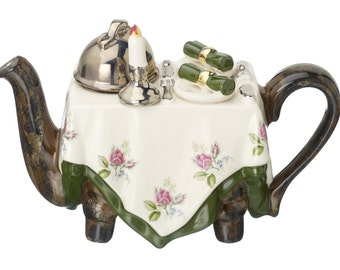 The 'Dinner for two ' Full Size Teapot