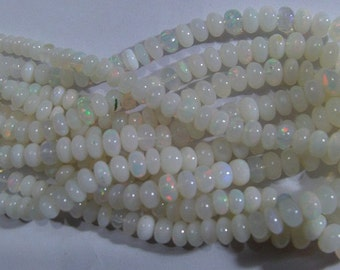 5. strands  Ethiopian Opal  beads  15''