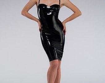 Newmar Dress ~ Syren Latex Fetish Fashion
