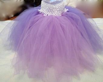 Disney Tangled Rapunzel Costume Tutu Skirt