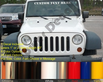 Jeep Windshield Decal Etsy - Custom windo decals for jeeps