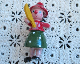 Christmas wooden ornament or decor