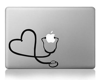Macbook stethoscope Decal for all MacBooks