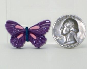 Purple Painted Butterflys 6