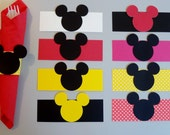 Mickey Mouse Napkin Rings - Set of 12     FREE SHIPPING!!!