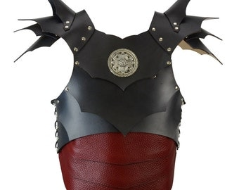 Dragon Slayer Armour - Fantasy Leather Armor - #DK5011