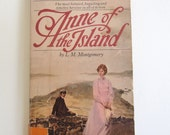 Vintage Anne of the Island  #3 in the Anne of Green Gables Series by L.M. Montgomery A Bantam Classic Paperback