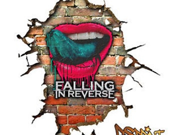 popular items for falling in reverse on etsy