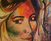 Custom Portrait  - A3 *Bold Style* Graffiti inspired, custom made from picture of one individual.
