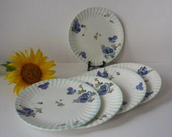old dessert plates