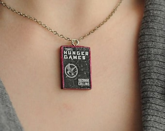 Hunger Games book charm