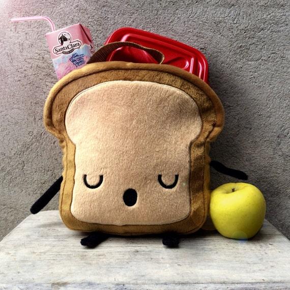 Mr. Litttle Bread slice LUNCHBOX