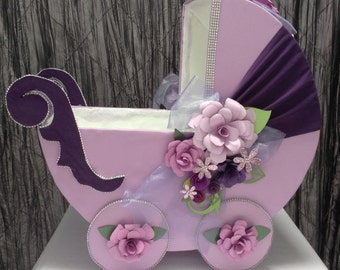 Baby Carriage Centerpiece Etsy