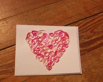 Giant Heart Card