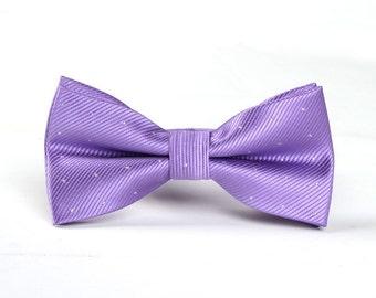 Wedding Bowtie .Mens Bowtie.Purple Bowtie for Party.Bowtie for wedding.Groomsmen Bowtie.