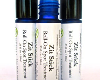 Zit Stick Roll On Spot Treatment: Natural Remedy for Acne and Blemishes That Works