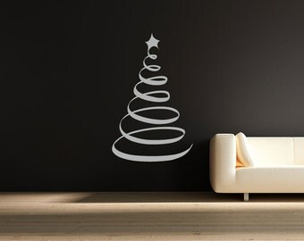 Swirl christmas tree | Etsy