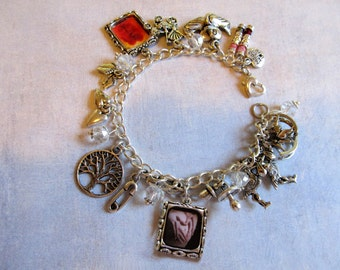 Mom-To-Be TWINS Personalized Keepsake Swarovoski Crystal Charm Bracelet - TWINS Pregnant Mom Baby Shower Gift
