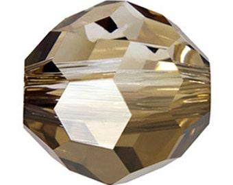 SWAROVSKI 5000 4mm - Pack 25 - Crystal Bronze Shade