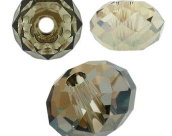 Swarovski 5040 6mm - Crystal Bronze Shade - Pack 10