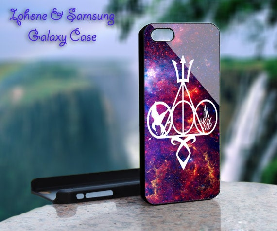 Harry Potter,Hunger Games,Divergent,Percy Jackson,Mortal Instruments Nebula - iPhone 4 4S iPhone 5 5S 5C and Samsung Galaxy S3 S4 Case