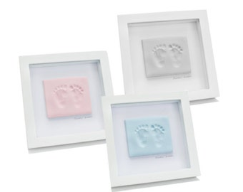 Single Frame with Soft Clay Hand or Foot Impression Kit