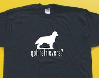 Got Flat Coat Retriever?  Short Sleeve T-Shirt. w/FREE matching sticker!
