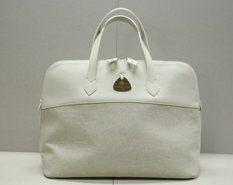 "SALDI!  - Weekend Bag "" White Bugs"""