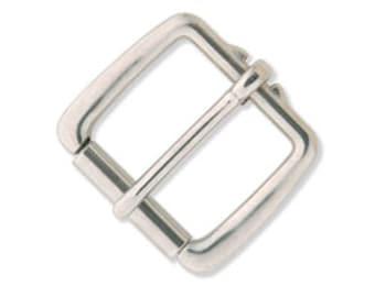 """Heavy Duty Roller Buckle 1-3/4"""" (4.4 cm) Stainless Steel 1526-00"""