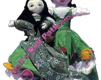Snow White & the 7 Dwarfs Upside Down Doll Pattern