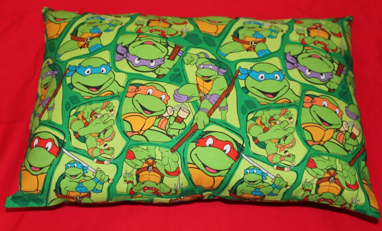 Teenage Mutant Ninja Turtles Pillow 12 x 18 by NELLENSCREATIONS