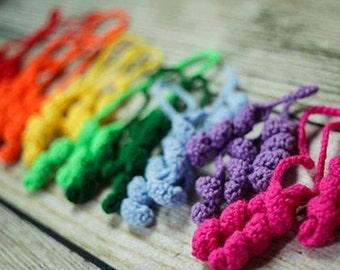 Curly Hair Bows Crochet