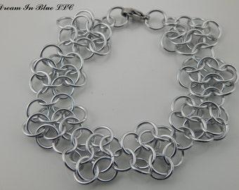 European Rosette Bracelet or Anklet
