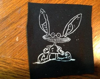 Ickis [Ahh! Real Monsters] Screenprinted Patch