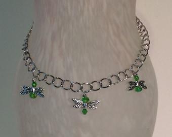 "Necklace ""Dragonfly Flight"""