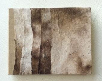 Handbound Tan & Brown Journal Album
