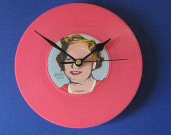 "Carter usm The young offenders mum   7"" vinyl record clock"