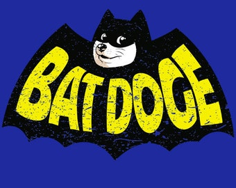 BatDoge T-Shirt - Bat Doge T-Shirt - Men's Funny T-Shirt - S M L XL XXL