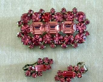 Vintage Pink demi parure