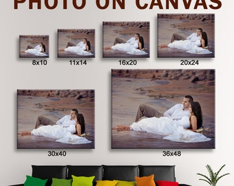 CANVAS SALE! Photo to Canvas, Custom Photo Canvas Print - Gallery Wrapped - Ready to hang - Perfect Custom Wall Decor Big canvas print