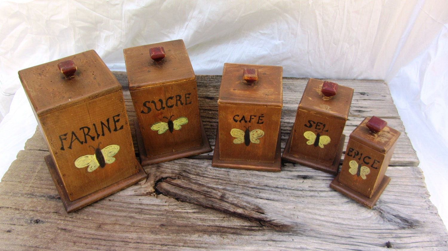 5 kitchen canisters wooden kitchen canisters kitchen