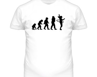 Evolution Hula Hoop T Shirt