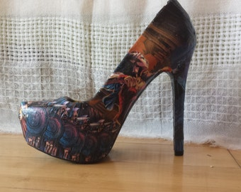 Made to Order Comic Book Shoes