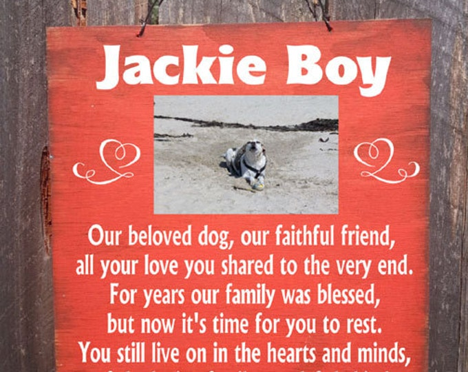 dog memorial, pet memorial, photo holder, picture frame, personalized pet memorial, personalized dog memorial