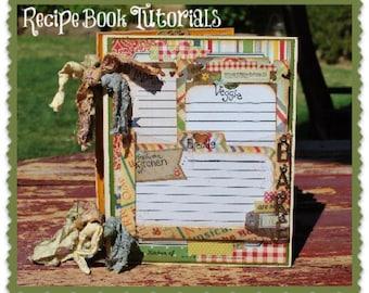 Recipe Mini Album Tutorial