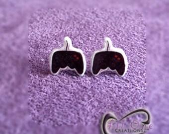Fun Emoji Video Game Controller Earrings
