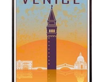 Venice 02 vintage style poster - SKU 0915